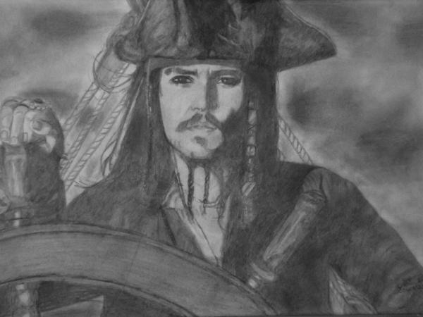Johnny Depp by JoyceTirolli